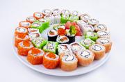 Суши на заказ. Удивите своих родных вкусной японской кухней.
